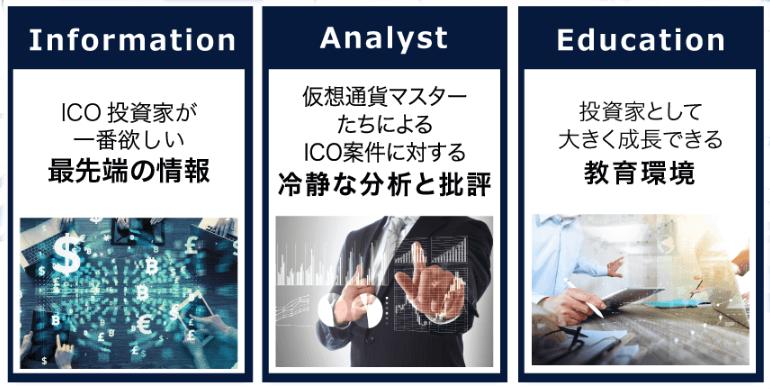 ICOの窓口(合同会社ZEN)特徴