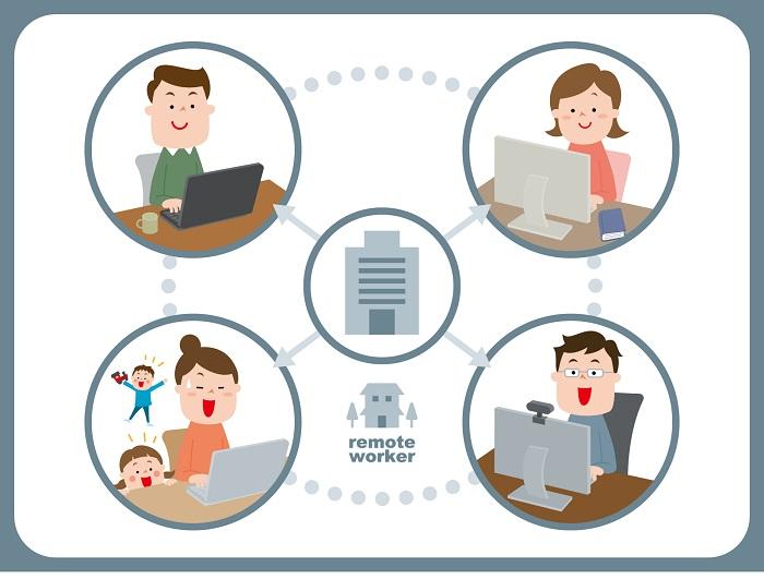 新型コロナで在宅ワーク「どのようにビジネスをオンライン化するのか?」